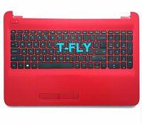 NEW HP 15ba 15-ba051wm Palmrest Upper Case with Keyboard AP1O2000311 855024-001