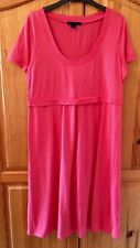 Boden Coral Pink Jersey Dress BNWOT Smart Casual Size 18