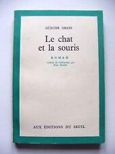 GÜNTER GRASS : LE CHAT & LA SOURIS / EO SP + ENVOI DU TRADUCTEUR À JEAN LEBRAU