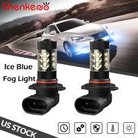 Ice Blue H13 9008 LED Headlight Fog Light Bulbs 8000K 110W 16000LM Hi-Lo Beam x2