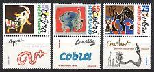 Netherlands - 1988 Modern art: Cobra Mi. 1347-49 zf MNH