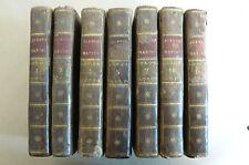 Vies des plus célèbres marins A.Richer 1789 Belin Biographie  7 vol Marine Tromp