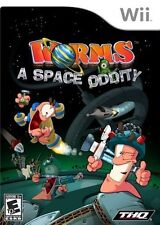 Worms A Space Oddity Nintendo Wii NEW SEALED