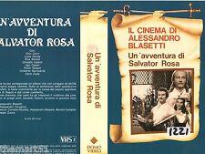 UN' AVVENTURA DI SALVATOR ROSA (1940) VHS  DomoVideo   Blasetti Cervi Stoppa