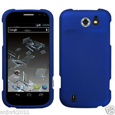 Sprint Flash ZTE N9500 Snap-On Hard Case Cover Accessory Titanium Blue