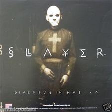 "Slayer ""Diabolus In Musica"" U.S. Promo Poster - Thrash, Groove & Nu Metal Music"