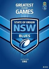 NRL - State Of Origin - Greatest Ever Games - New South Wales (DVD, 2013, 3-Disc