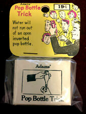 Vintage SS Adams Pop Bottle Trick