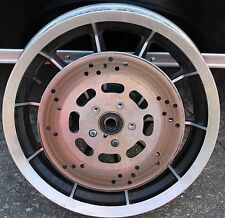 "Original Harley Front 16"" Mag Wheel With Rotor Stock OEM Used Great Shape U-1795"