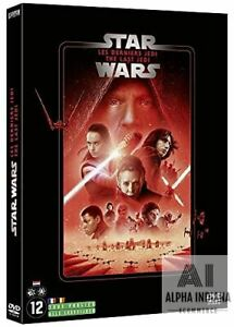 Star Wars 8 : Les Derniers Jedi DVD Film Cinéma Neuf FR