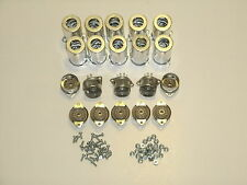 BELTON 9 pin 12AX7 tube socket with shield,  top mount, fits Fender, Set of 10