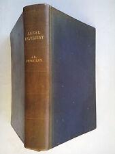 J B PRIESTLEY.ANGEL PAVEMENT.1ST/1 1930 H/B MOROCCO LEATHER.DEDICATION C S EVANS