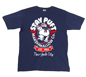 Kids Stay Puft Ghostbusters Inspired Youth T shirt - Retro 80's Movie/Film