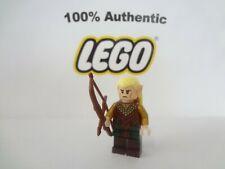 100% LEGO Hobbit Lord of the Rings Legolas Greenleaf w/Bow Minifig 79001 79017