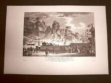 Agrigento Rupe Atenea o Scale dei Franceschini Voyage Pittoresque di Saint Non