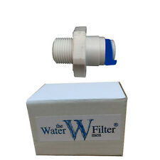 WATER FILTER HOUSING AND WATER FILTER FITTING WITH 1/4""