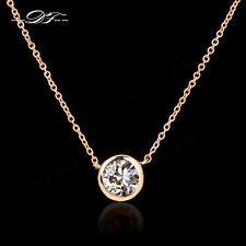 New Simple OL Style Crystal Chain Necklaces & Pendants Fashion Jewelry For Women