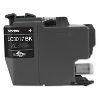 Brother LC3017BK High-Yield Ink 550 Page-Yield Black