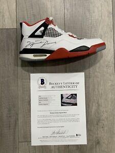 michael jordan signed autographed shoe beckett bas coa Rare
