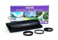 Set Filtri (Prot. UV +Polarizzatore Circolare +ND8) Hoya Digital Filter Kit 43mm