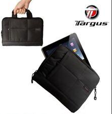 "Targus Crave iPad Tablet Slip Carry Case Bag 9.7"" ZIPPER Pocket for AC Adapter"