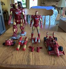 Marvel Legends 3  IRON MAN figures & Stark Race Car