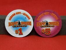 Jackpot Crossing Casino $1,$5 Casino chip