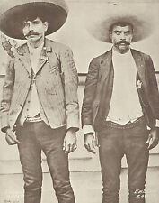 WESTERN Portrait ZAPATA BROTHERS Revolutionaries VINTAGE Photo Print 784 11 x 14