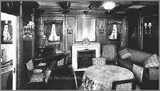Photo: RMS Titanic Interior: J Bruce Ismay's  Parlour Suite, 1912