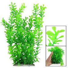 "12"" Green Water Plastic Plant Decoration For Aquarium New"