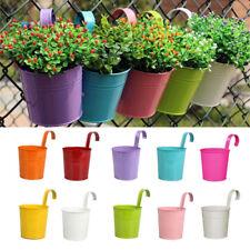 10 stück Hängetopf Blumentopf Hängetöpfe Übertopf Garten Balkon Dekoration