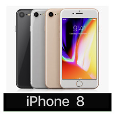 Apple iPhone 8 64GB Gold Gray Silver GSM Unlocked AT&T Verizon Smartphone