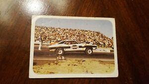 1973 Fleer Race USA AHRA Drag Racing Card 14 Gary Larry Kimball Brothers Camaro
