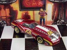 '16 Hot Wheels 1976 Greenwood Chevy Corvette LOOSE 1:64 Escala
