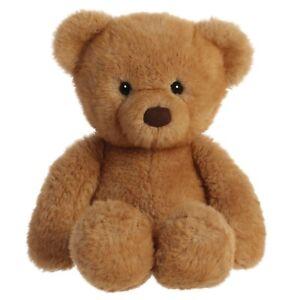 "TheMogan 13"" Softie Teddy Bear Zoo Soft Plush Stuffed Animal Toy Gift Brown"