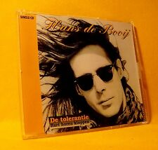 NEW MAXI Single CD Hans De Booij De Tolerantie 2TR 1993  Pop / Soft Rock RARE !