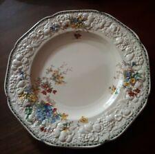 "Excellent CROWN DUCAL FLORENTINE 10"" Plate. Rare Berkshire Pattern."