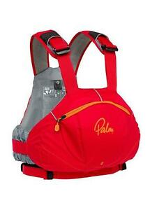 Palm FX Whitewater Kayak Buoyancy Aid Red