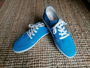 Hub Footwear Sneakers Schuhe Gr. 42 Neu  Blau Leder