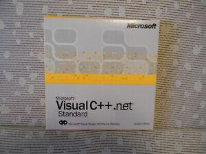 Microsoft Visual C++ .net Standard 2003 New with shelf wear