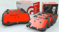 Genuine BREMBO HEAVY DUTY brake pads for NISSAN 350Z Z33 FRONT & REAR TRACK PACK