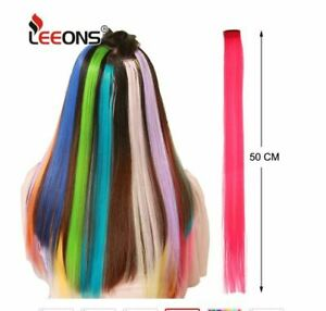 Clip In 100% Real Remy Hair Extensions Balayage/Ombre Full Head Color Bright