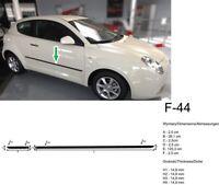 Einstiegsleisten Schutzleisten passend für Alfa Romeo Mito 2008-2014 Polyurethan