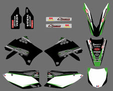 2009-2011 For Kawasaki KX450F KXF450 Lower Fork Deco Decal Swingarm Graphics Kit