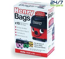 Genuine Henry NVM-1CH Hepaflo Paquete de bolsas de polvo para usar con todos los tamaños de Henry
