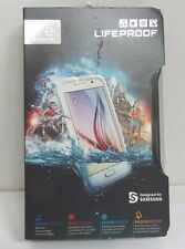 Genuine LifeProof frē Case for Samsung Galaxy S6 Cell Phones - White/Gray