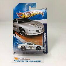 Pontiac Firebird #163 * WHITE * Highway Patrol * 2011 Hot Wheels * HH29