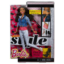 Barbie Style Nikki Doll Flats to Heels Rooted Eyelashes 2014 Mattel Cfm55