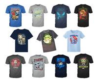 Funko POP TEE T-Shirts Mandalorian Venom Star Wars Marvel Collector Corps Disney