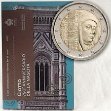 San Marino 2 euro 2017 Giotto in booklet (#3310)